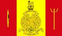 ROYAL MARINES FLEET PROTECTION GROUP - 5 X 3 FLAG